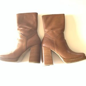 Candies Booties Size 7 Excellent Condition